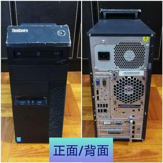 即買即用 Lenovo ThinkCentre Intel i5 (4代) 4570, 8GB DDR3, Nvidia GeForce GT 730 2G D5