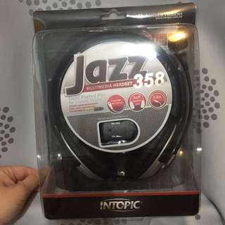 🚚 INTOPIC JAZZ358 耳罩式耳機