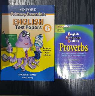 English Assessment / Proverbs Guide books