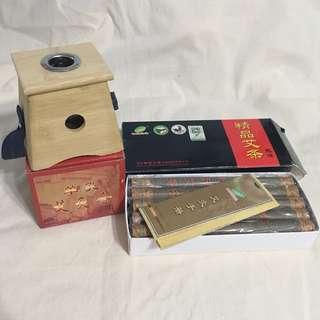 全新艾灸盒&無煙灸條