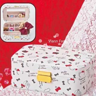Hello Kitty 手飾盒 收納盒