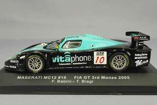1:43 Maserati Mc12 #10 FIA GT 3rd Monza