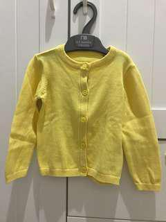 Yellow Cardigan Mothercare