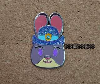 香港迪士尼樂園emoji Pins ~~Judy