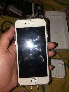 Iphone 6 64 gb gold fullset nett minus