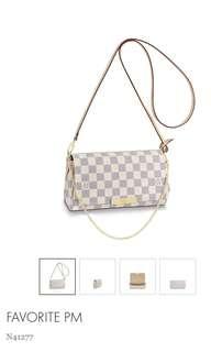 Louis Vuitton brand new Favorite PM