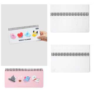 【Korea Buying Service】BTS Line Friends x BT21 Weekly Planner