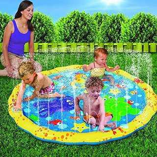Inflatable Sprinkle and Splash Playmat