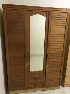 Blessing - 3 Door Wooden Wardrobe