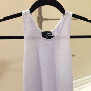 Wilfred free light blue tank top