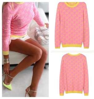 Gucci Crew Neck Knit Sweater