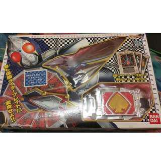 Kamen Rider Blade Blay Rouzer and Buckle set