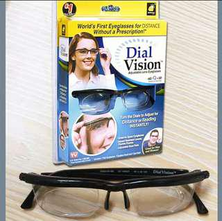 [ High Positive Rating ] Women Men Vision Focus Adjustable Reading Glasses Myopia Eye Glasses -6D to +3D Variable Lens Correction Binocular Magnifying