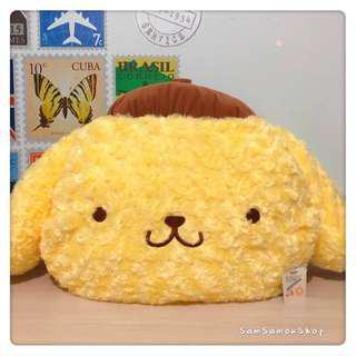 日本景品 Sanrio Pompompurin 布丁狗 布甸狗 BigFace 咕𠱸
