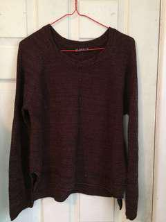 CottonOn burgundy jumper