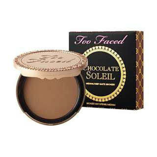 Too Faced Chocolate Soleil Bronzer Med/Deep