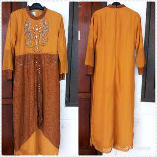 Gamis fayet mute