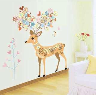 Deco Deer Decals / Stickers