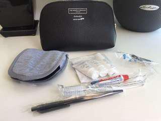 Brand new Business class travel kit
