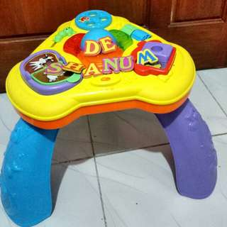 Fisher Price Light and Sound Table Activity