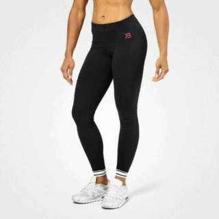 Better Bodies Gracie Fitness Leggings Cuffed Ankles Size med Ladies