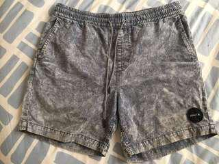 RVCA Acid Wash Shorts