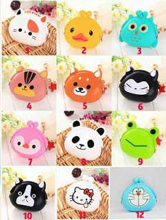 Dompet koin bentuk binatang, bentuknya lucu, praktis gampang masuk tas, yu pesan.