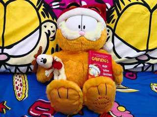 加菲貓 Garfield 25週年絕版公仔