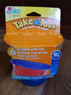 Stock 1: Take & Toss Bowls with Lids (6pcs)