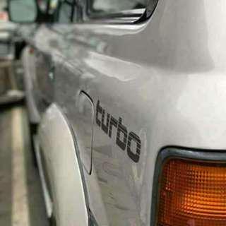 ORIGINAL lc 80 turbo sticker decals