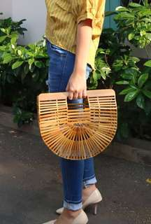 FOR SALE BAMBOO BAG