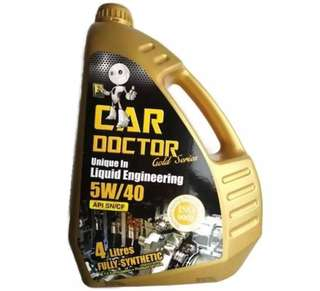 Car Doctor Fully Synthetic Lubricant 5W-40 Engine Oil 4L