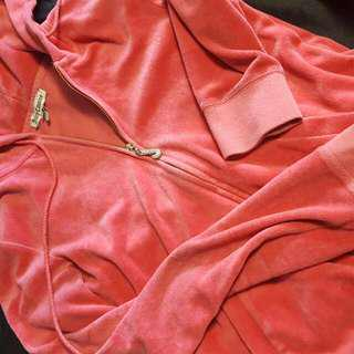 Juicy Couture Pink Velour Tracksuit Sweater Only