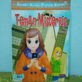Buku Novel KKPK Teman Misterius