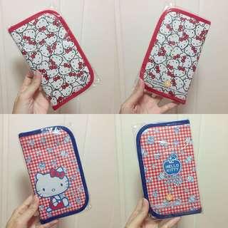 Hello Kitty 銀包2個