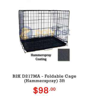 Foldable Pet Cage 3ft