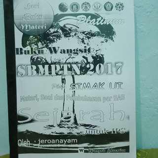 Buku WANGSIT PLATINUM SBMPTN SEJARAH 2017