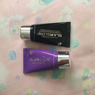Glamglow 皇牌面膜 #Youthmud #Gravitymud 旅行裝 一套兩件 黑罐 抗老 紫罐 提升