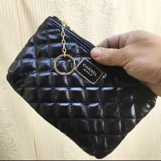 Chanel Authentic makeup pouch vip gift