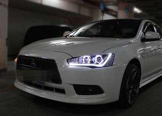 Lancer ex / evo 10 angel eye headlight