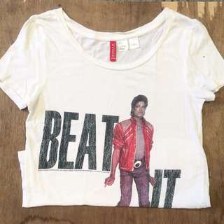 H&M Michael Jackson Shirt