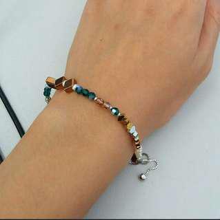 Cliff Von Edge Crystal bracelet