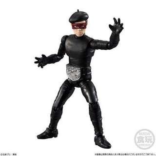 全新 盒蛋 食玩 幪面超人 掌動 系列 Masked Rider Kamen Shodo VS part 9 09 42  修卡 黑色 貝雷帽 戰鬥 人 員 1 盒