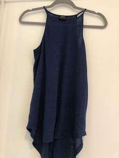 Bardot Linen Singlet, Size 8