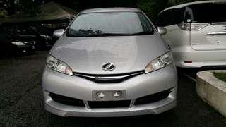 Toyota Wish 1.8 X spec 2014 recond for sale