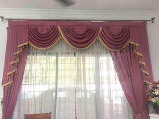 Home preloved curtain