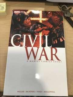Marvel Civil War Comin