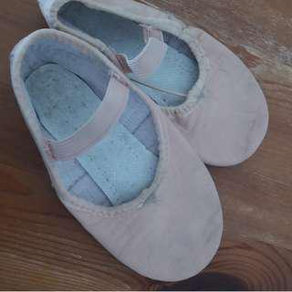 SDM leather girl's ballet shoes