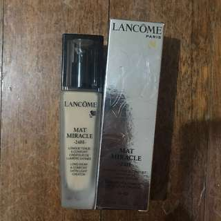 Lancôme Mat Miracle 48H Foundation