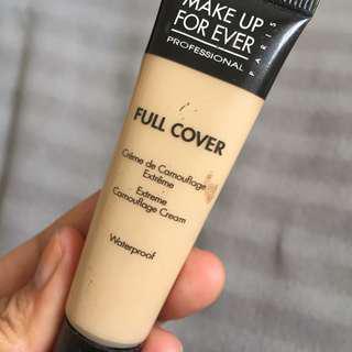 Make up forever full coverage concealer